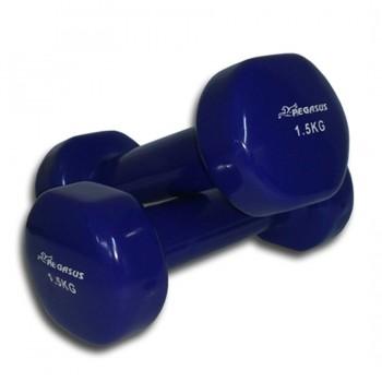 Pegasus® Βάρη χειρός βινυλίου ‑ 1.5 kg (τεμάχιο)
