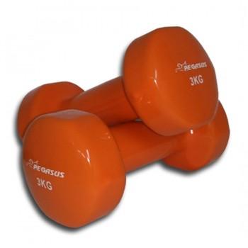 Pegasus® Βάρη χειρός βινυλίου ‑ 3 kg (τεμάχιο)