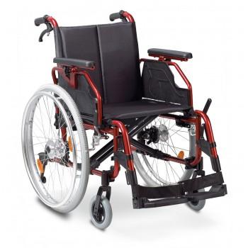Αναπηρικό αμαξίδιο αλουμινίου Deluxe