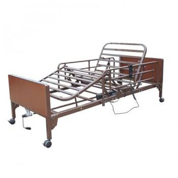 Νοσοκομειακό κρεβάτι – κλίνη ημι-ηλεκτρικό πολύσπαστο με χειροκίνητη ανύψωση MOBIAK