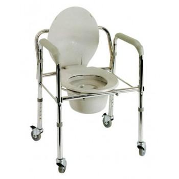 Κάθισμα τουαλέτας τροχήλατο deluxe